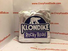 Crazy Food Dude Review: Klondike Rocky Road Ice Cream Bars