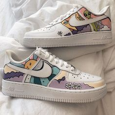 What do you think of these customs? Dr Shoes, Tennis Shoes Outfit, Hype Shoes, Gucci Shoes, Versace Shoes, White Nike Shoes, Nike Air Shoes, Cool Nike Shoes, Nike Tennis Shoes
