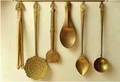 Brass utensils! ooooooooo