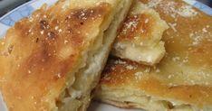 Το τηγανόψωμο είναι μια κλασσική ευβοιώτικη νοστιμιά!!!  Θα το βρείτε σχεδόν σε όλα τα ταβερνάκια στην Εύβοια, όπου μην διστάσετε να το παρα... Greek Recipes, Hot Dog Buns, Pizza, Bread, Cooking, Breakfast, Food, Kitchen, Morning Coffee