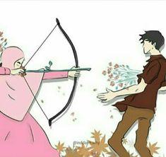 kumpulan kartun romantis parf 3 - my ely Love Illustration, Cute Wallpapers, Couple Cartoon, Islamic Art, Couple Wallpaper, Cute Cartoon, Anime Muslim, Cartoon, Anime Love