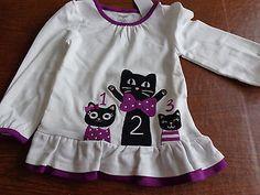 NWT 3-6 Months Gymboree KITTY BALLERINA Pink L//S Knit Bubble DRESS