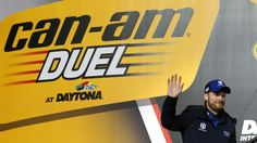 DAYTONA 500 QUALIFYING:    Dale Earnhardt, Jr. is introduced before going on to win the Can-Am Duel, the first of the twin qualifying races for the Daytona 500, at Daytona International Speedway, in Daytona Beach, Fla., Thursday night, February 18, 2016. (Joe Burbank/Orlando Sentinel)