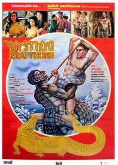 Kraithong, 1983 (Thai Film Poster) by Aeron Alfrey, via Flickr