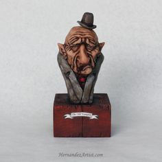 Hey, I found this really awesome Etsy listing at https://www.etsy.com/listing/262174479/old-vampire-handmade-sculpture-polymer