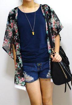 DIY   1 hour Kimono Cardigan   ✖ PEABRAIN DIY ✖