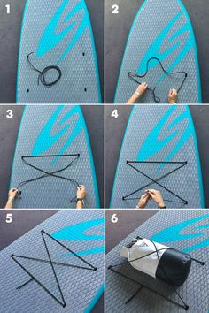 TUTORIAL: OUTFITTING YOUR STAND UP PADDLE BOARD (SUP) WITH A BUNGEE CORD LASHING SYSTEM