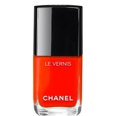 Pin for Later: See All of the Gorgeous New Chanel Nail Polishes Here First! Chanel Le Vernis Longwear Nail Colour in Gitane Summer Nail Polish, Chanel Nail Polish, Chanel Nails, Red Nail Polish, Nail Polish Trends, Summer Nails, Nail Polishes, Manicures, Neon Nail Colors