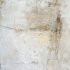 """Poem 3"" (oil and wax on panel by Jeane Myers)"