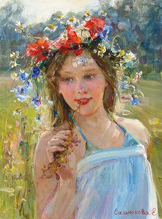 В поле, Елена Сальникова