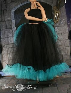Formal Ultra huge Petticoat tutu skirt with by SistersOfTheMoon, $200.00
