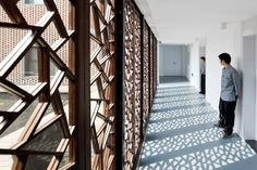 Centro Comunitario de Tres Patios por AZL Architects Pekin reminiscencias vernaculas