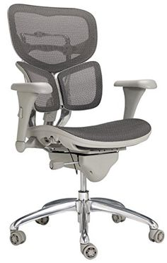 WorkPro Commercial Mesh Executive Chair, Grey Invest in your own professional performance with an ergonomic chair that's built to last.