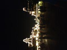 Main Street all lit up! (Orlando, Florida--Walt Disney World, Magic Kingdom)