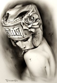 TKO-'Fight-For-YOU' by Brian M. Viveros #Brian_Viveros #Art