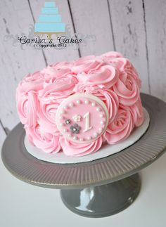 smash cake for girl - Google Search