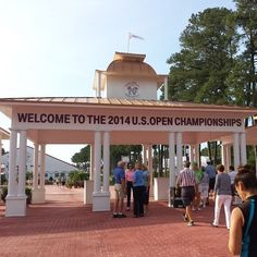 2014 U.S.Open Championships in #Pinehurst #NC / Via: foursquare / Contact Lin for your dream home in the Sandhills: http://linhutaff.com/