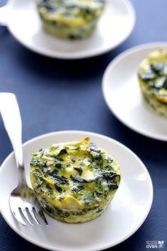 Easy Spinach Artichoke Quiche Cups   gimmesomeoven.com