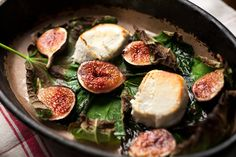 NYT Cooking: Baked Figs and Goat Cheese