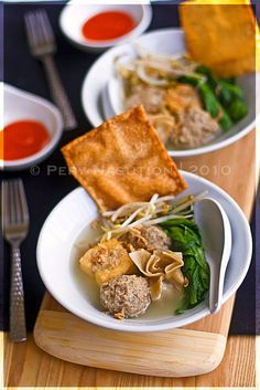 Fabulous Bakso Campur Recipe Indonesian Mixed Meatballs Soup