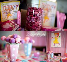 Fancy Nancy Birthday Party - I am going to do this for Annabelle....