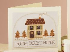Home Sweet Home, designed by Ursula Michael from http://www.cross-stitching.com (a.k.a. The-Chart-Shop.Com)
