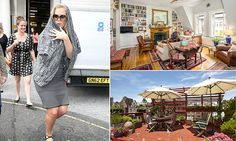 Trainwreck's Amy Schumer says she lives in modest walk-up. Amy Schumer, Rooftop Garden, Rich Life, Kitchen Art, One Bedroom, New York City, House Ideas, Walking, Homes