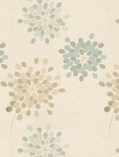 A stunning stylised large scale allium design with fine metallic detail on a lightly ribbed textured background. Shown here in soft duck egg blue and light brown. Available in other colours. Please request sample for true colour match. Harlequin Wallpaper, Damask Wallpaper, Wallpaper Decor, Bathroom Wallpaper, New Wallpaper, Large Print Wallpaper, Feature Wallpaper, Home Decor Inspiration, Color Inspiration