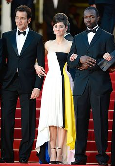 Cannes Film Festival 2013: Red Carpet Celebrity Fashion: Clive Owen, Marion Cotillard, Jamie Hector