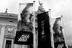 Ritratti di Pierluigi Collina | Top Talk 2012 | Fotografo Elio Leonardo Carchidi | Simobil - Slovenia