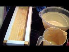 Making & Cutting Gold Rush Soap - YouTube