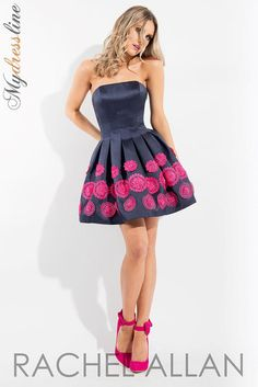 Rachel Allan 4318 Short Cocktail Dress ~LOWEST PRICE GUARANTEED~ NEW Authentic #RachelAllan #CocktailEvening