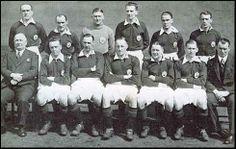 Arsenal in the English league title treble - 1933 - 1935.