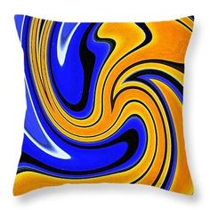 Making Waves 1 Throw Pillow  http://pixels.com/products/making-waves-1-sarah-loft-throw-pillow-14..  #throw pillows #sarahloft #digitalart #digital #abstract