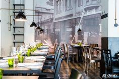 Ravintola Ludun nostalginen sisustus   TS Koti