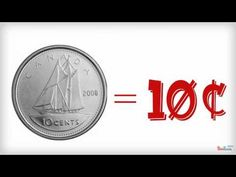 An animated cartoon for a kid's song that I wrote that tells about the significance of the symbols on Canadian coins. It's used in elementary schools through. Money Activities, Math Resources, French Resources, Numbers Kindergarten, Math Numbers, Teaching Money, Teaching Math, Money Songs, Math Songs