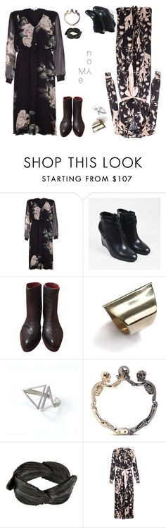 """""""Let's find out together #3"""" by amory-eyre ❤ liked on Polyvore featuring Ghost, Christian Dior, Jo Ghost, K/LLER COLLECTION, Ware London, Alexander McQueen and AURUM by Guðbjörg"""