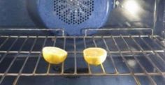 Clean the oven for a few minutes with a cut in half lemon. Put the lemon in the oven and turn the broiler on for a few minutes. After three minutes turn it off, throw the lemons and see the result. Dirty Kitchen, Kitchen Hacks, Kitchen Cleaning, Deep Cleaning, Cleaning Hacks, Floor Cleaning, Cleaning Supplies, Fruit Flies, O Gas