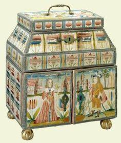 ataud de costura mediados del siglo 17por reina victoria