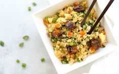 "Teriyaki Chicken Fried ""Rice"" | Recipe"