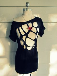 Wobisobi: Spiderweb Shirt, DIY