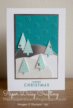 Paper Daisy Crafting: More Christmas cards with Merry Mistletoe from Sta...