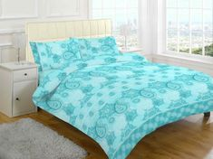 Emmaline Duvet Cover Set Marlow Home Co. Teal Bedding Sets, Luxury Bedding Sets, White Bedding, Comforter Sets, Damask Bedding, Modern Bedding, King Comforter, Beds Uk, Paisley