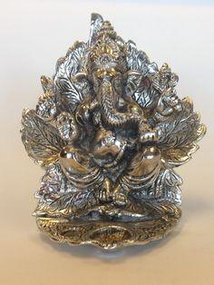 Oxidize Ganesha With Diya