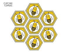 FREE Bumble Bee Party Printables from Printabelle | Catch My Party