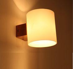 minimalist Japanese-style tatami new The Continental garden wood wall lamp living room bedroom balcony hallway wall sconce Nordic: Amazon.co.uk: Lighting #IndustrialWallSconce