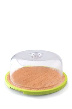 Round Bamboo Dish with Cover