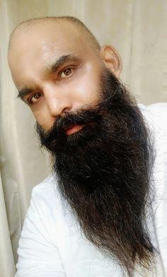 Bald With Beard, Bald Men, Beard Styles, Beards, Studs, Women, Fashion, Moda, Fashion Styles