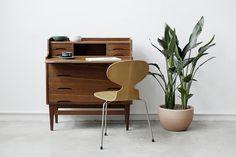 Danish Bureau | NODEN Denmark Furniture, Danish, Nightstand, Table, Home Decor, Decoration Home, Room Decor, Danish Pastries, Night Stand