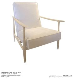 Ironies Skiff Lounge Chair